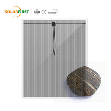 70w 30% Transparent Photovoltaic Thin Film Solar Power Panel For Sale