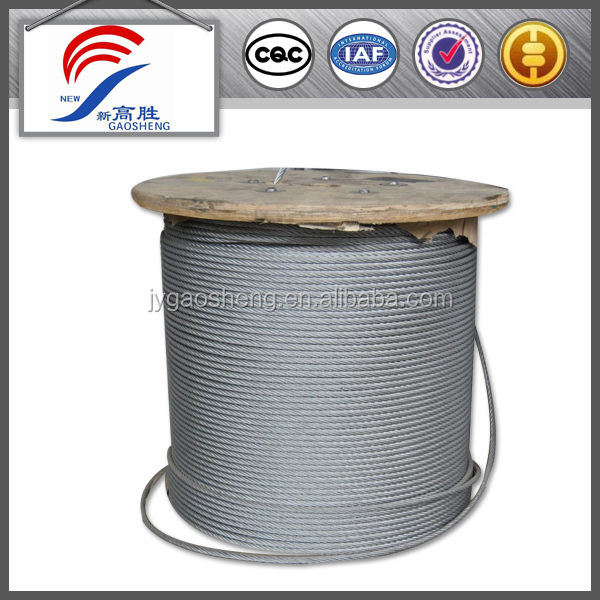Steel cable 7x7 6mm