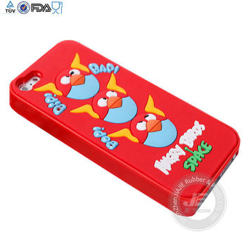 Cute silicone case for iphone 5 high quality silicon case supplier