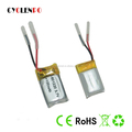 Original China 601220 LIPO 3.7v lipo battery 100mah li ion polymer battery with wires