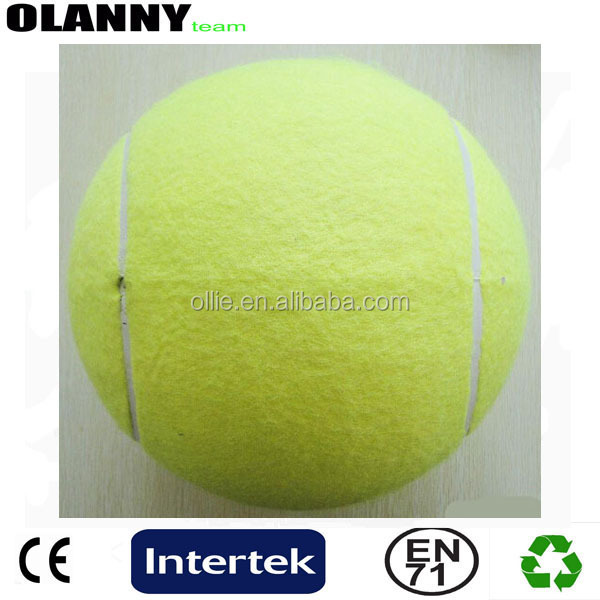 tournament customized yellow tennis ball logo printing