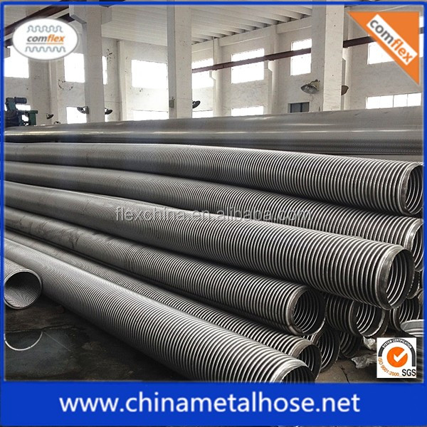 Industrial usage stainless steel 304 flexible metal tube