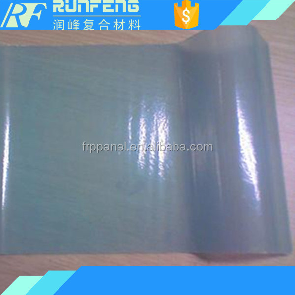 UV protection transparent flat/corrugated frp roofing sheet corrugated plastic roofing sheets