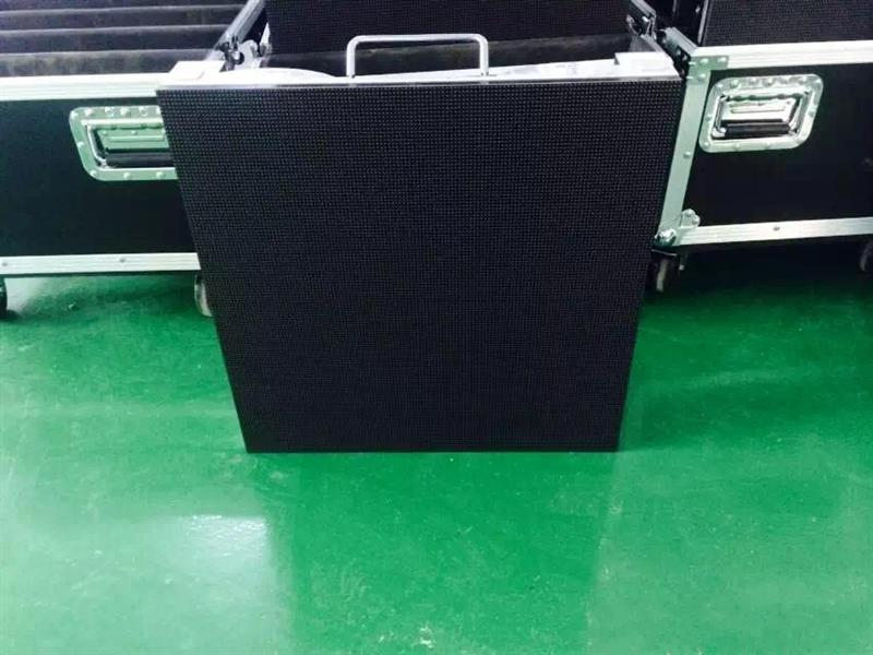 Strong enough for impact show high quality rental p4.8 led sign p4.81rental led video screen