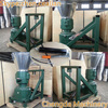 CE approved KL120P Chengda direct supply 6-10HP PTO corn stalk pellet mill driven by tractor