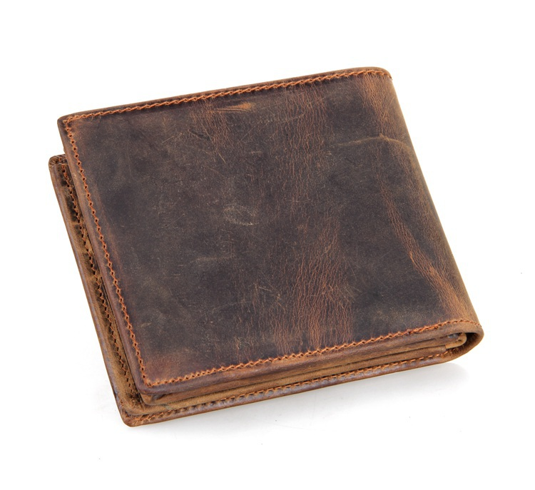 8056R High Quality Men Heavy Duty Leather Wallet