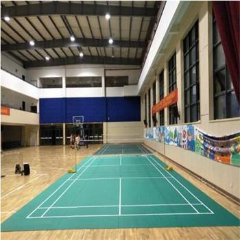 Factory Direct Top Quality of Badminton Court Mat with Litchi Pattern