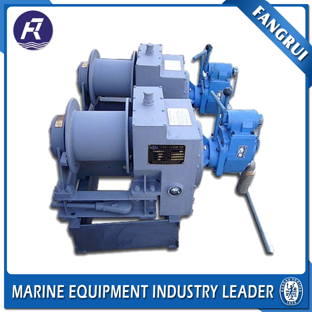 Modern Marine Drum Winches Double Hydraulic Winch