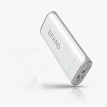 Emergency Universal Portable Mobile Power Pack/ Portable Power Bank 5200mAh With Led Light
