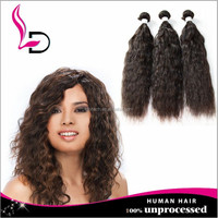 artifici pussi brazilian natural wave hair wholesale pure indian remy virgin human hair weft