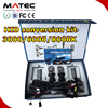 Guangzhou automobile accessories HID headlight kit h4 car light hid 12v 24v for car motorcycle truck xenon kit