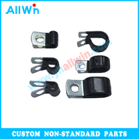 Customized Carbon Steel Fasteners Parts Stamping Parts Auto Spring Steel Clips