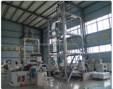 3SJ-G Three-layer Common-extruding Rotary Die High Speed Film Blowing Machine