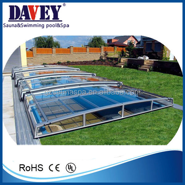 pool accessories swimming pool telescopic cover pool roof