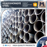 low carbon black welded iron pipe