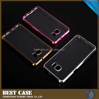 guangzhou soft touch felt case mobile phone cover for galaxy S7