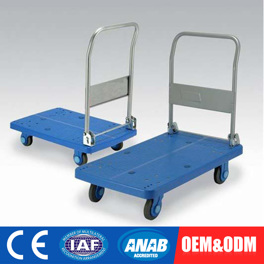 Adjustable OEM Production Tea Cart Pvc Salon Hair Color Trolley