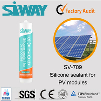 High Temperature Resistance Silicon Sealant for Solar Panel Modules