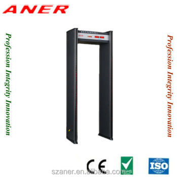 airport security door frame metal detector gate, outdoor security gate,3d metal detector