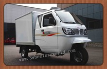 China Closed Cabin Big Wheeler Tricycle With Cargo Box For Adluts