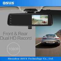 4 inch rearview mirror rear view driving camera gps navigation for car
