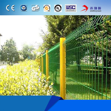 Beautiful triangle bending garden wire mesh fence panel 3D fence
