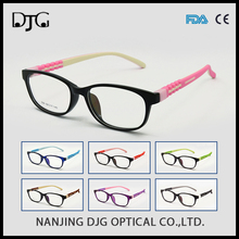 Rectangle cute elastic silicone glasses eyeglasses frame for fashion eyeglasses optical frame for boys and girls