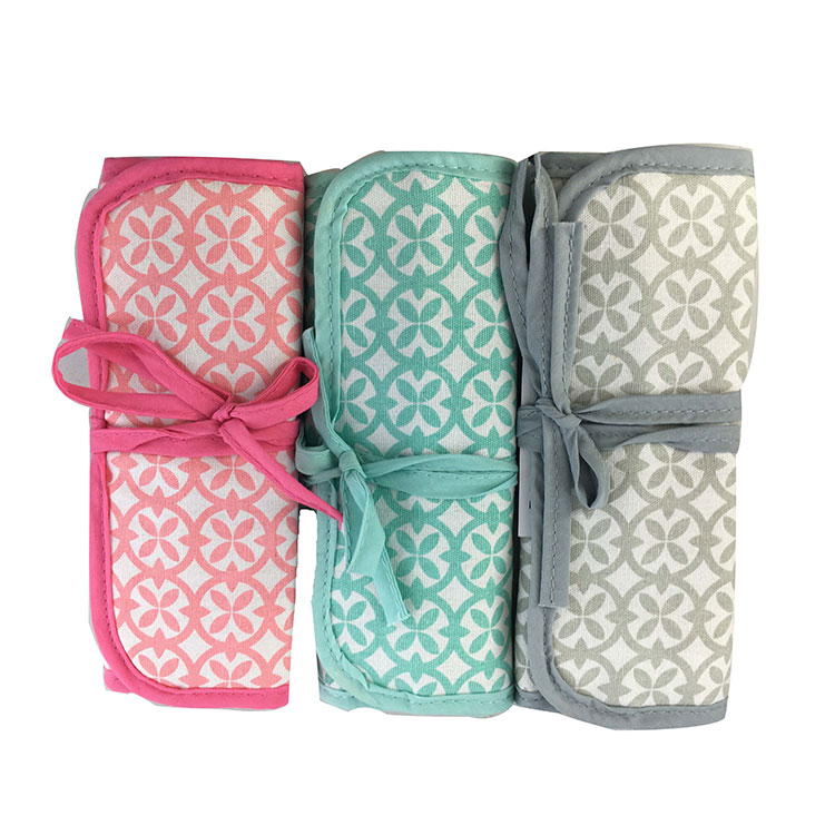 Best price of canvas jewelry roll bag with cheapest