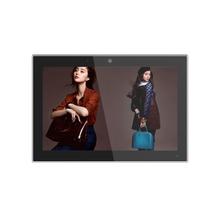 10 inch tablet HD wall mounted LCD media advertising display/advertising digital signage/advertising media player