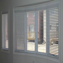 Home Style Timber Venetian Blinds, Horizontal Blinds 50mm 35mm
