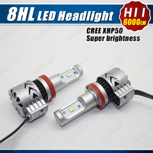 Hot Selling Motorcycle M3 Led Headlight Bulbs Autozone Car H7 Led Headlight Bulbs