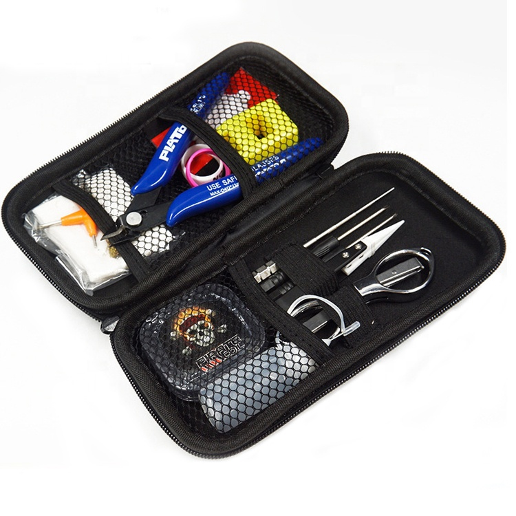 PIRATECOIL hot sale portable DIY RDA RBA vape tool <strong>kit</strong> for coil tank building