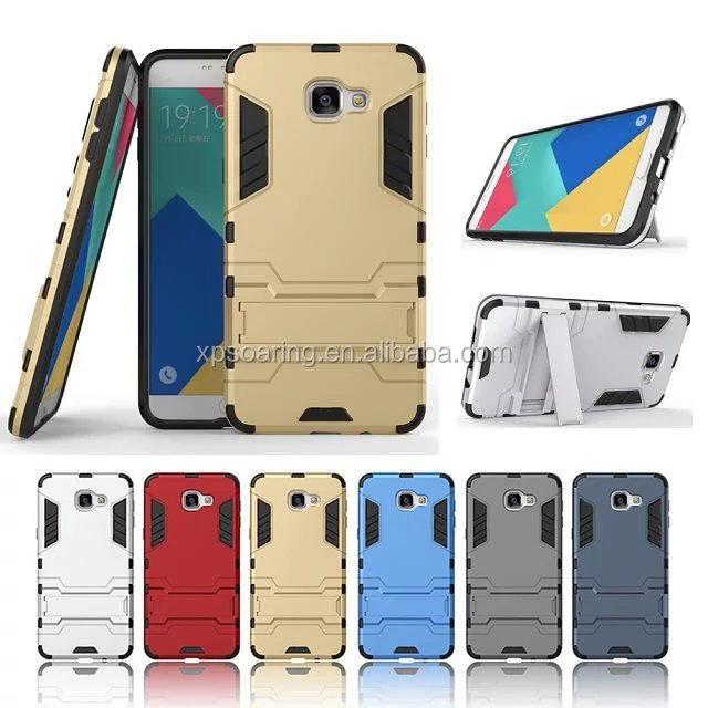 Kickstand shockproof case for Samsung Galaxy A9 Pro, Stand heavy duty case for Galaxy A9 Pro