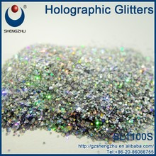 SL1100S Inorganic pigment and PET Style chameleon fine glitter powder