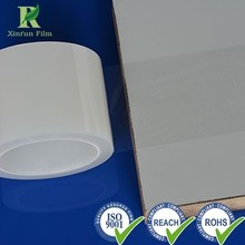 Plastic PE Transparent Protective Film with Glue for Wholesale
