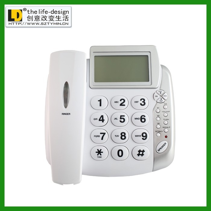 TM-PA004 Cheap Telephone set, caller id phone , office telephone 2014 new