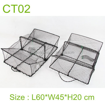 HOT SALE stainless steel wire crab trap, crab pot