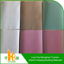 Fire resistant/fireproof gypsum board faced paper