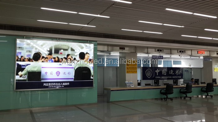 Waterproof Inner Arc Advertising Outdoor Full Color LED Screen
