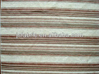 Home Textile Upholstery Furniture Stripes Chenille Jacqaurd Fabric Manufacturer