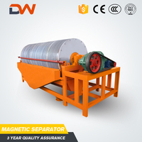 Wet Magnet Overband Dry Magnetic Separator Price