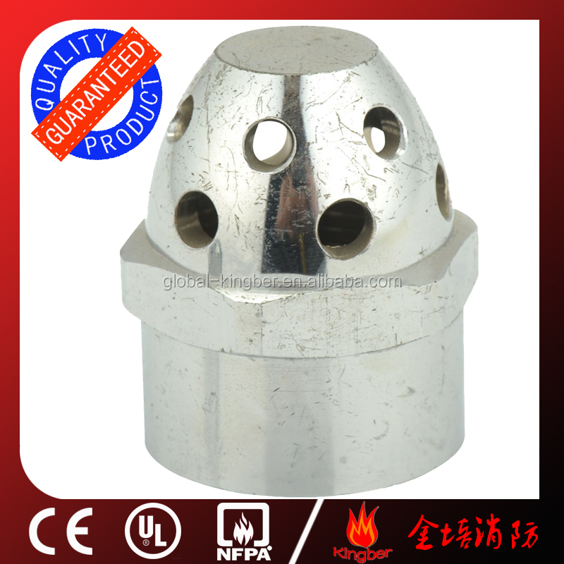Brass Fire Fighting 68 Celsius Degree Upright Fire Sprinkler for Automatic Fire Extingusher System