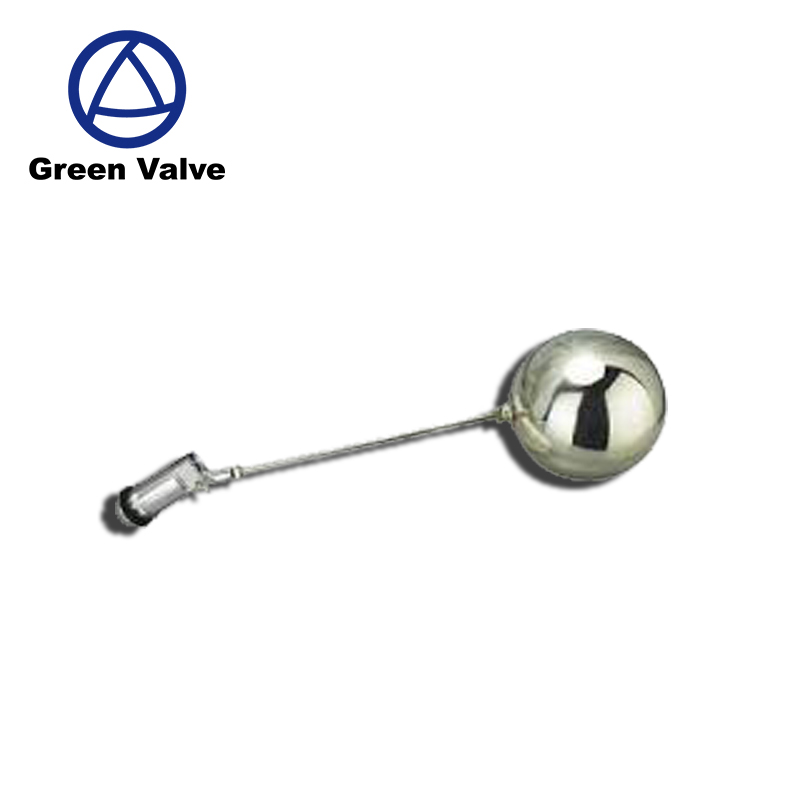 Green Guten-top DN15 1/2BSP Meatl Automatic Fill Float Valve for Water Tank HydroLogic Made in China