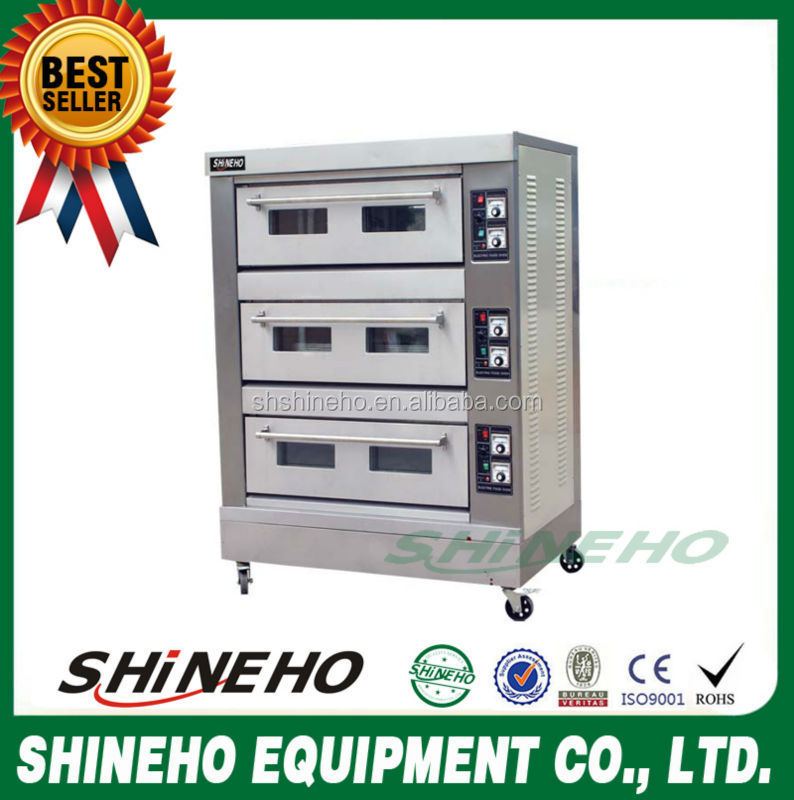 B015 electric deck oven/cake baking oven/hot sale bakery equipment