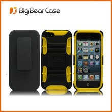Shock proof belt clip cover case for iphone 5 5s