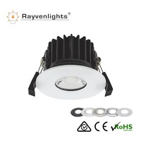 SAA CE Approval 10W Dimmable COB LED Fire Rate Downlight CRI>95 850lm Tridonic driver compatible