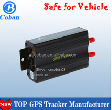 gps vehicle tracking system in Venezuela TK103 Cut off Oil tracker GPS103B with ACC working alarm
