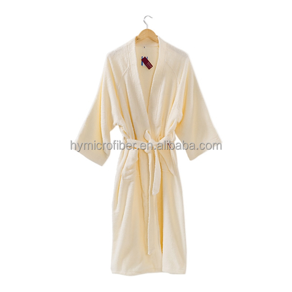 Cotton terry animal baby bathrobe
