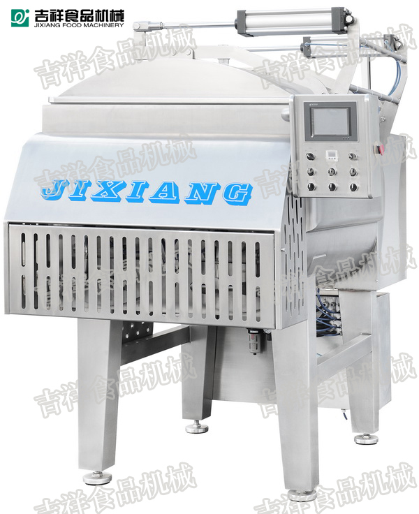 Meat Vacuum Mixer Blender Mixer Grinder Sausage Production Meat Processing