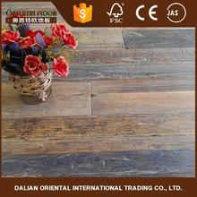 2017 villa decoration and white oiled luxury Reclaimed elm plank wood